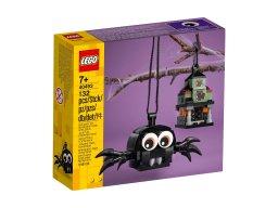 LEGO 40493 Pająk i nawiedzony dom