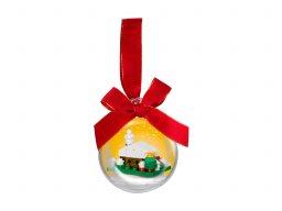 LEGO 850949 Ozdoba świąteczna z zasypaną śniegiem chatą