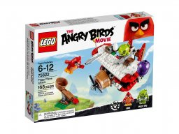 LEGO Angry Birds™ Atak samolotem świnek 75822