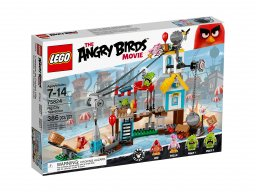 LEGO Angry Birds™ 75824 Demolka w Pig City