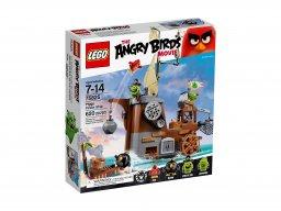LEGO 75825 Angry Birds™ Statek piracki świnek