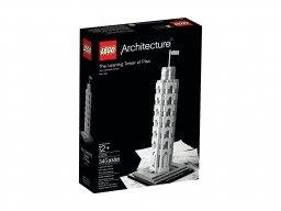 LEGO 21015 Krzywa Wieża w Pizie