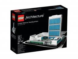 LEGO 21018 Kwatera główna ONZ