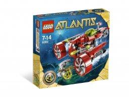 LEGO 8060 Atlantis Łódź podwodna Tajfun