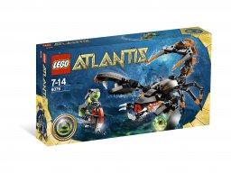 LEGO 8076 Atlantis Głębinowy napastnik