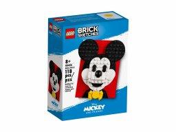 LEGO 40456 Brick Sketches Myszka Miki