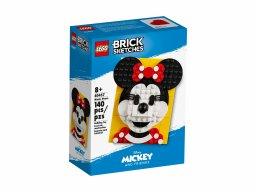 LEGO 40457 Brick Sketches Myszka Minnie