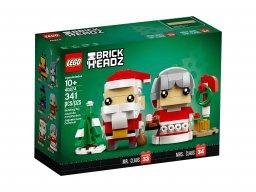 LEGO 40274 BrickHeadz Święty Mikołaj i Pani Mikołajowa