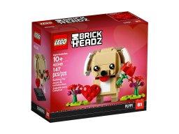 LEGO 40349 BrickHeadz Walentynkowy szczeniaczek