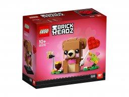 LEGO BrickHeadz Walentynkowy miś 40379