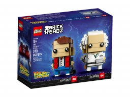 LEGO 41611 BrickHeadz Marty McFly & Doc Brown