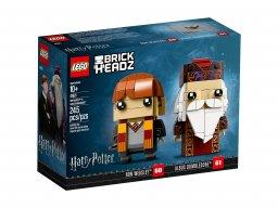 LEGO 41621 BrickHeadz Ron Weasley™ i Albus Dumbledore™