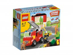 LEGO Bricks & More Moja pierwsza remiza LEGO® 10661