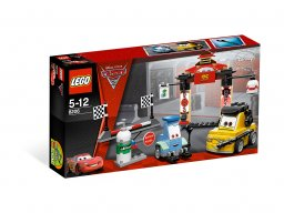 LEGO Cars 8206 Stanowisko postojowe w Tokio