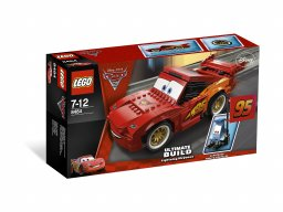 LEGO 8484 Cars Zygzak McQueen - superkonstrukcja