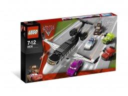 LEGO Cars Ucieczka szpiegowskim odrzutowcem 8638