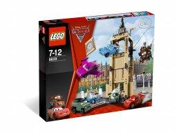 LEGO Cars 8639 Ucieczka z wieży zegarowej Big Bentley