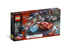 LEGO 9485 Cars™ Superzestaw wyścigowy