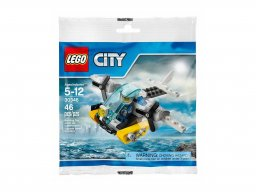 LEGO 30346 City Prison Island Helicopter