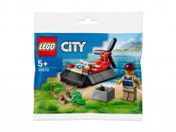 LEGO 30570 Poduszkowiec ratowników dzikich zwierząt