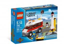 LEGO City Wyrzutnia satelitów