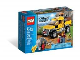 LEGO City Górniczy wóz terenowy