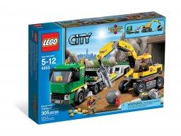 LEGO 4203 City Koparka z transporterem