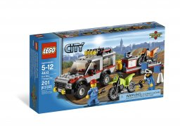 LEGO 4433 City Transporter motocykli