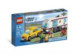 LEGO City Samochód z przyczepą kempingową