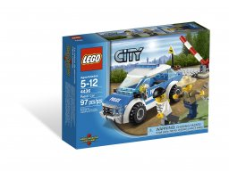 LEGO City 4436 Wóz patrolowy