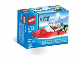 LEGO City Łódź wyścigowa 4641