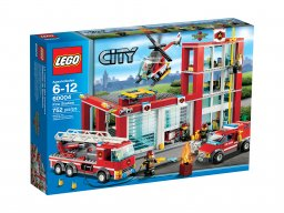 Lego City 60004 Remiza strażacka