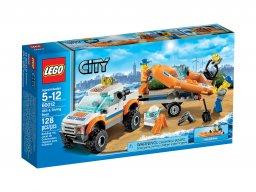 LEGO City Wóz terenowy i łódź nurków