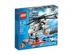 LEGO City Helikopter straży przybrzeżnej 60013
