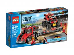 LEGO City 60027 Transporter monster trucków