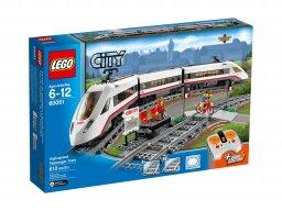 LEGO City Superszybki pociąg pasażerski 60051