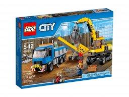 LEGO 60075 Koparka i ciężarówka