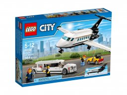 LEGO City 60102 Lotnisko - obsługa VIP-ów