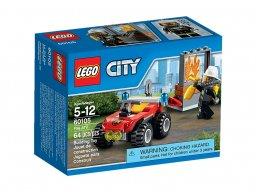 LEGO City Strażacki quad 60105