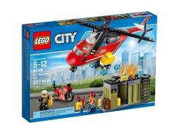 LEGO City 60108 Helikopter strażacki