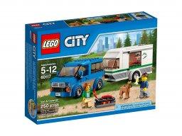 LEGO 60117 City Van z przyczepą kampingową