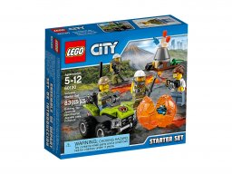 LEGO 60120 Wulkan - zestaw startowy