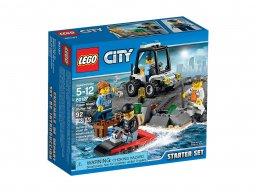 LEGO City 60127 Więzienna Wyspa - zestaw startowy