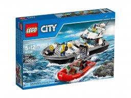 LEGO 60129 City Policyjna łódź patrolowa