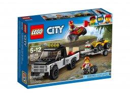 LEGO 60148 Wyścigowy zespół quadowy