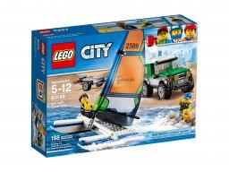 LEGO 60149 City Terenówka 4x4 z katamaranem