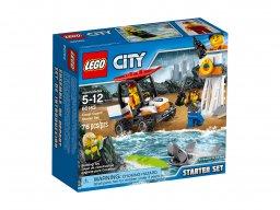 LEGO 60163 City Straż przybrzeżna - zestaw startowy