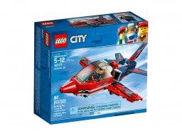 LEGO City Odrzutowiec pokazowy