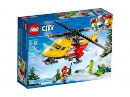 LEGO City Helikopter medyczny 60179
