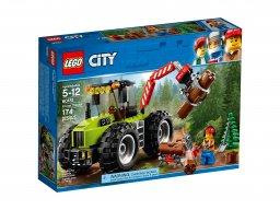 Lego City Traktor leśny